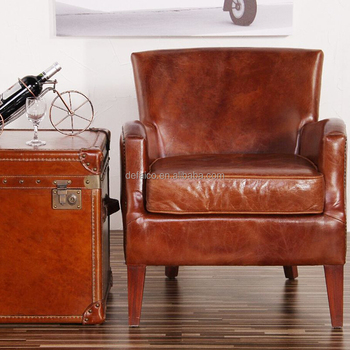 Retro Style Dining Chairs Tan Leather