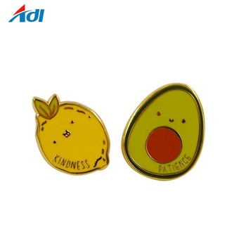 High quality Custom hard enamel pin gold lapel pin with factory price