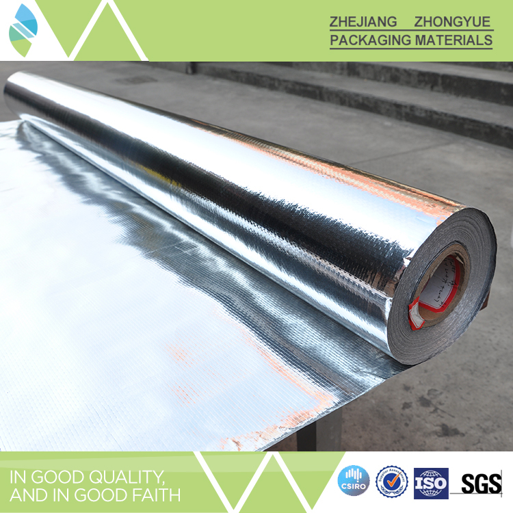 China wholesale fire resistant aluminum foil woven fabric for Fire resistant insulation material