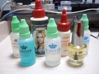 wholesale top quanlity cheap stock hair bonding glue ,remover for hair weaving super bond