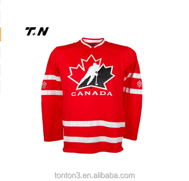 custom oversized team set ice hockey jersey for national leagues