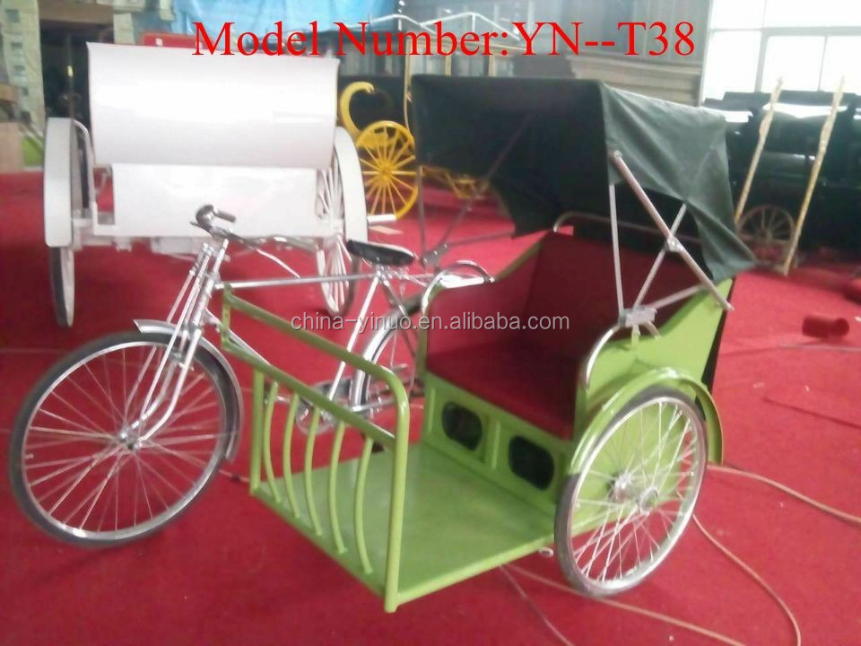 old shabby Partial pedal and electric systerm rickshaw and trishaw for sale