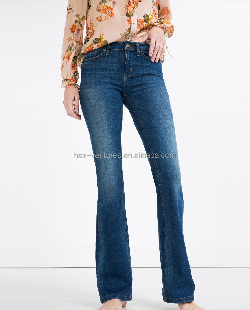 mid rise flared jeans women plus size women jeans clothing denim apparel latest jeans tops design