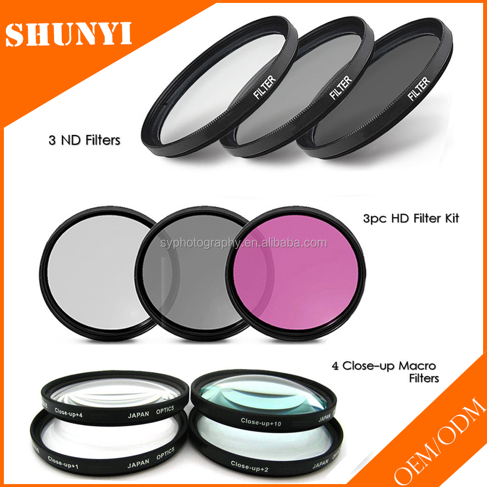 OEM DSLR Camera Accessories Kit Lens Filters Kit