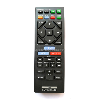Tv Remote Control Codes Universal Remote Control For Sony Rmt B126a Blu-ray  Dvd Player Universal Led Tv Remote Control - Buy Universal Remote