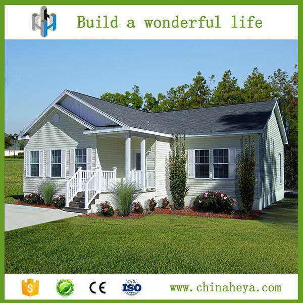 HEYA modern low-cost small nice designed two bedroom prefeb house plan