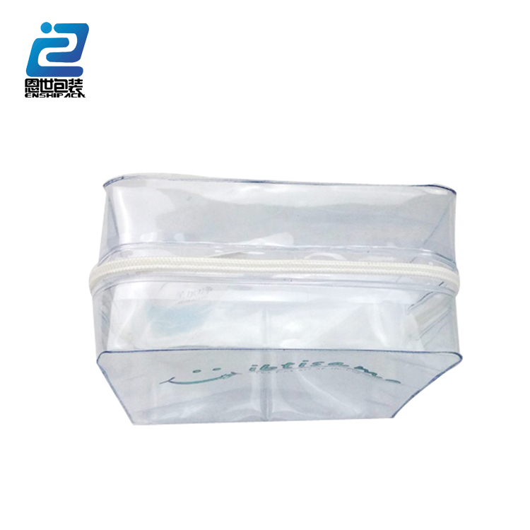 Sublimation beautiful waterproof pvc hanging cosmetic bag