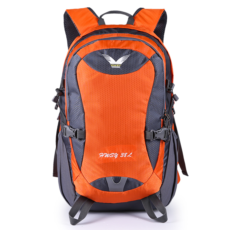 Free shipping waterproof outdoor backpack 420D nylon fabric hiking climbing high quality backpack 40L