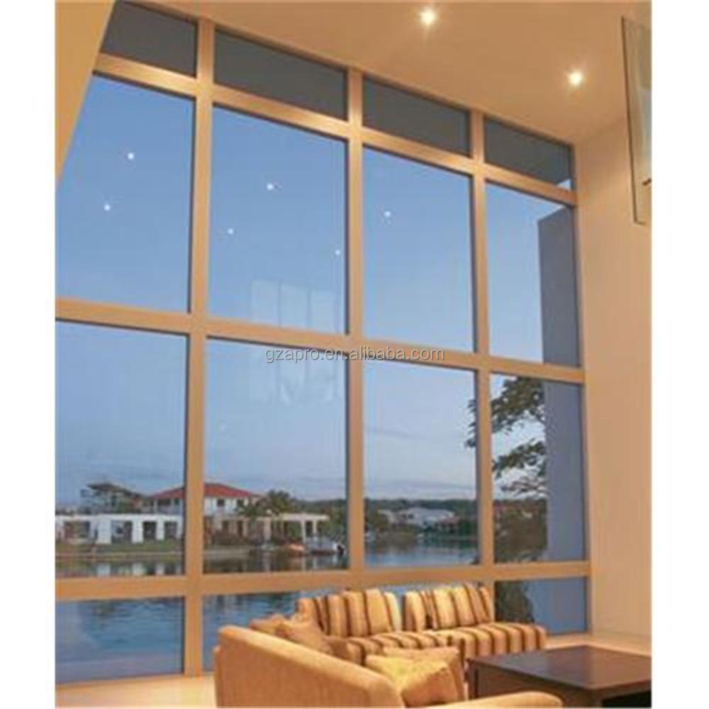 2020 Product Ideas Decorative Gl Window Fixed Panel Aluminum