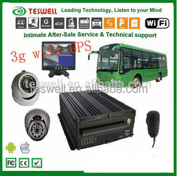 Support Playback Cms Mobile Dvr With Rohs H.264 4/8ch Dvr