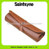 13006 Genuine leather pouch for pens pouch factory price