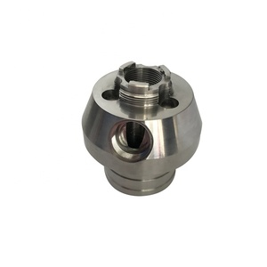 Custom Stainless Steel Machining Service, Precision CNC Machined Spare Parts, CNC Lathe Turning Drilling Components