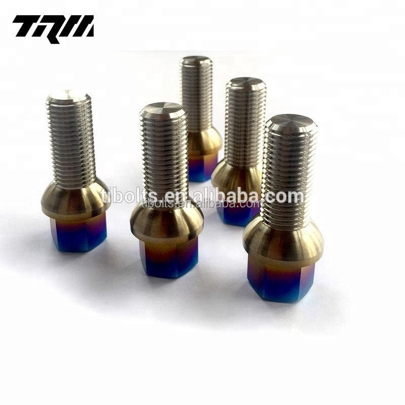 M14 M12 titanium racing wheel lug bolts coche instock