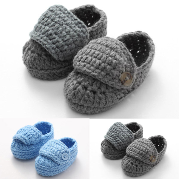 Buy Handmade Knitted Baby Boy Loafers