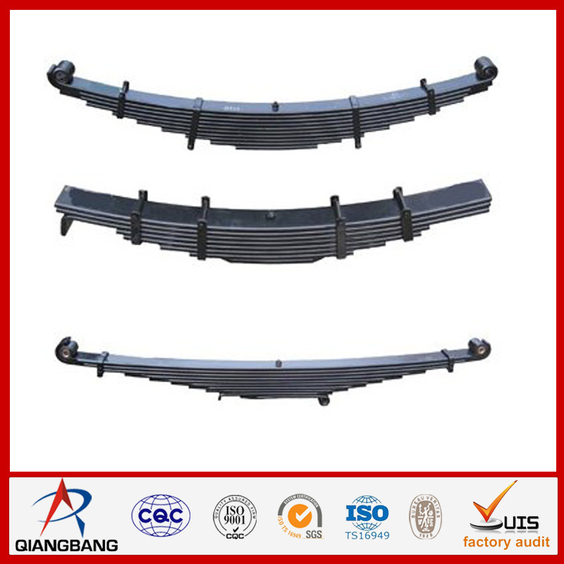china automotive double eyes leaf spring