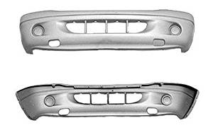 Crash Parts Plus Front Bumper Cover for Dodge Dakota, Durango CH1000310