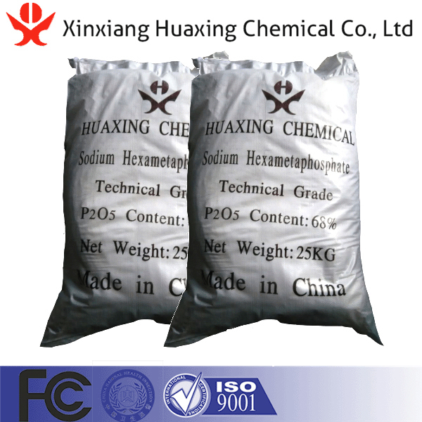 Xinxiang Supply High Purity SHMP Sodium Hexametaphosphate