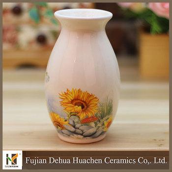 2015 Mini Flower Vase Painting Designs Buy Flower Vase Painting