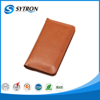 For iphone 7/7 plus wallet PU case with card slots mobile phone leather case