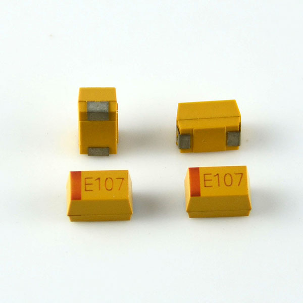 Hot sale electronic component 107 smd chip tantalum capacitor