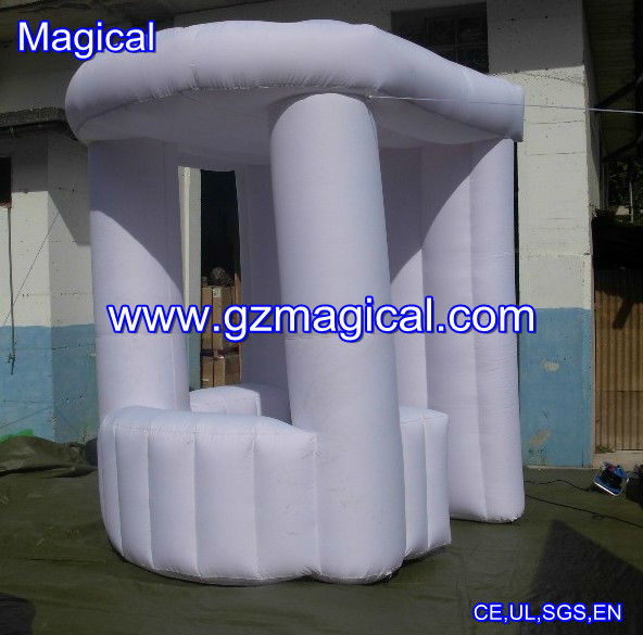 Inflatable stand selling bar tents/ outdoor beach mini selling bar