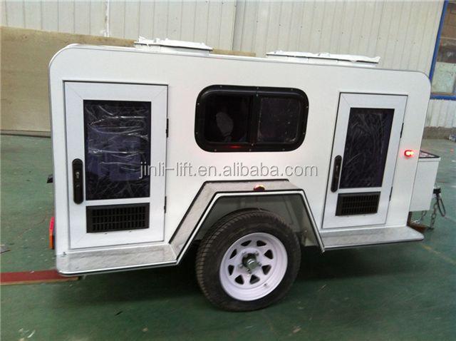 Manufacture Camping Trailer With Caravan Doors Dog Trailer China