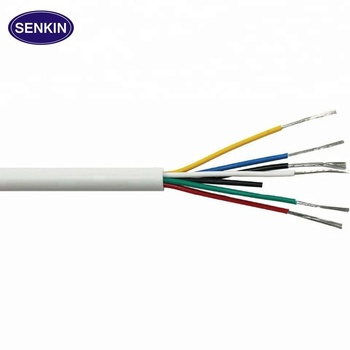 top selling FEP/PFA/Teflon insulation silicone jacket cable wire teflon custom made length with customer require professional