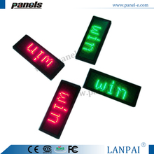 OEM factory directly wholesale price led name tag,led name badge led sign one colour
