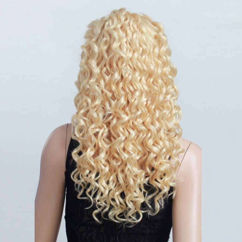 hot sale 100 unprocessed no mix cuticle aligned russian blonde 613 color hair