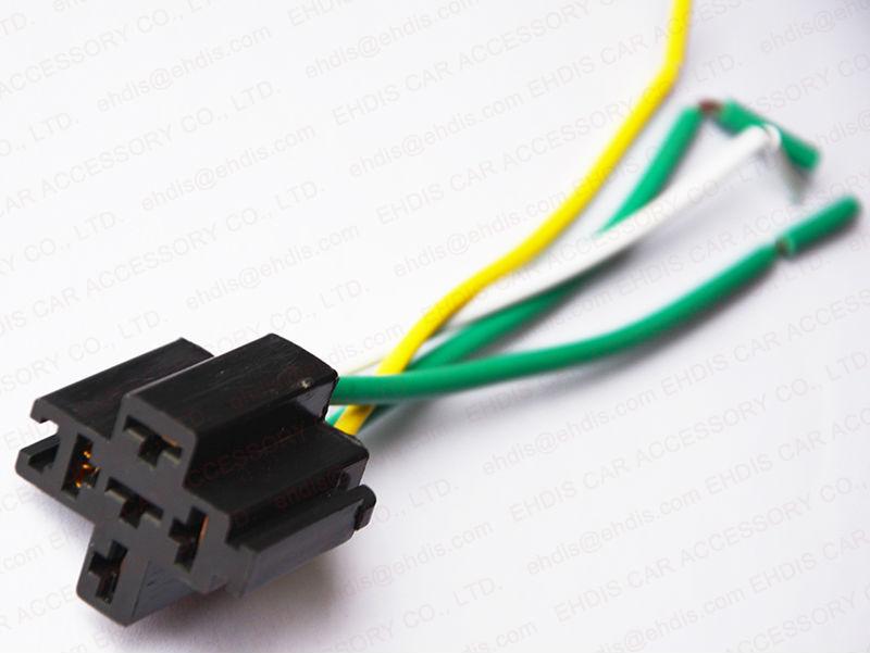 Auto Pin Pin Relay V V A A A Car Relay Socket Buy - 5 pin relay socket