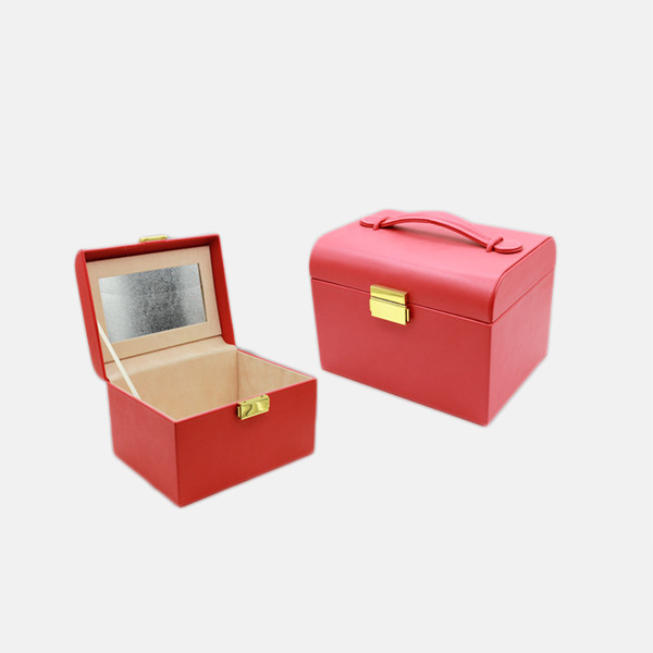 Wooden Jewelry Box With Lock And Key,Wooden Jewelry Box With Mirror,Wooden Jewelry Box With Pu Leather