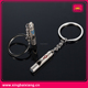 wholesale metal couple train whistle pendant keychain