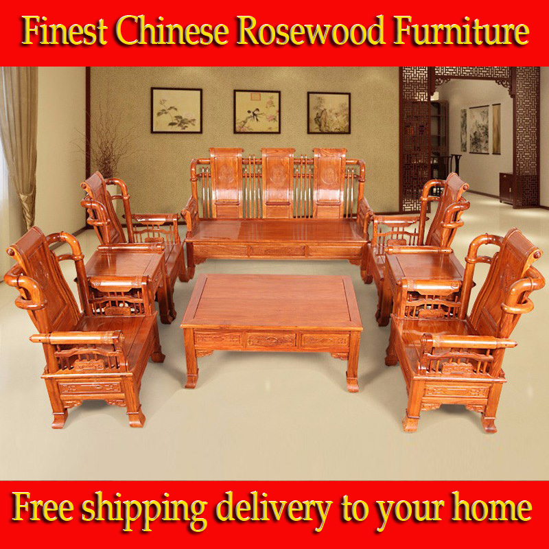 Order Furniture Online Free Shipping: Popular Rosewood Sofa-Buy Cheap Rosewood Sofa Lots From