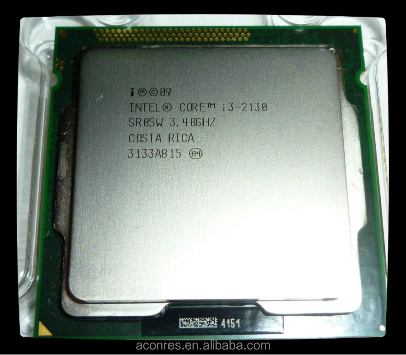 CPU Processor Intel Core i3 2130 used CPU