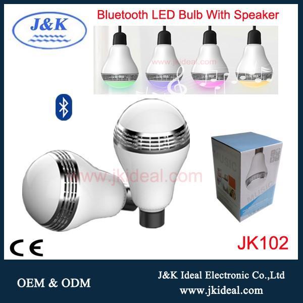 Best Wifi Light Bulb: JK102 e27 network best wifi light bulb speaker for home,Lighting