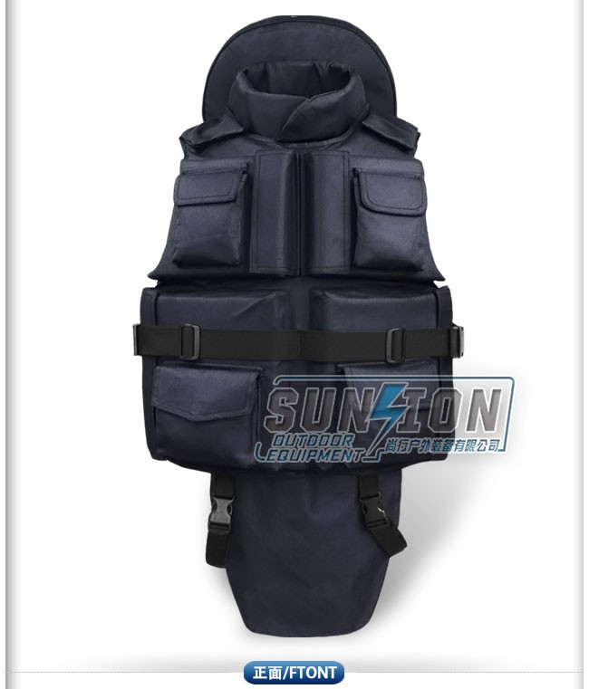 quick release tactical body military bulletproof vest for security