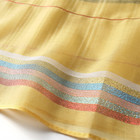 Black and yellow striped latest scarf designs shawl women scarf custom design scarf Embroidered Lightweight shawl wrap
