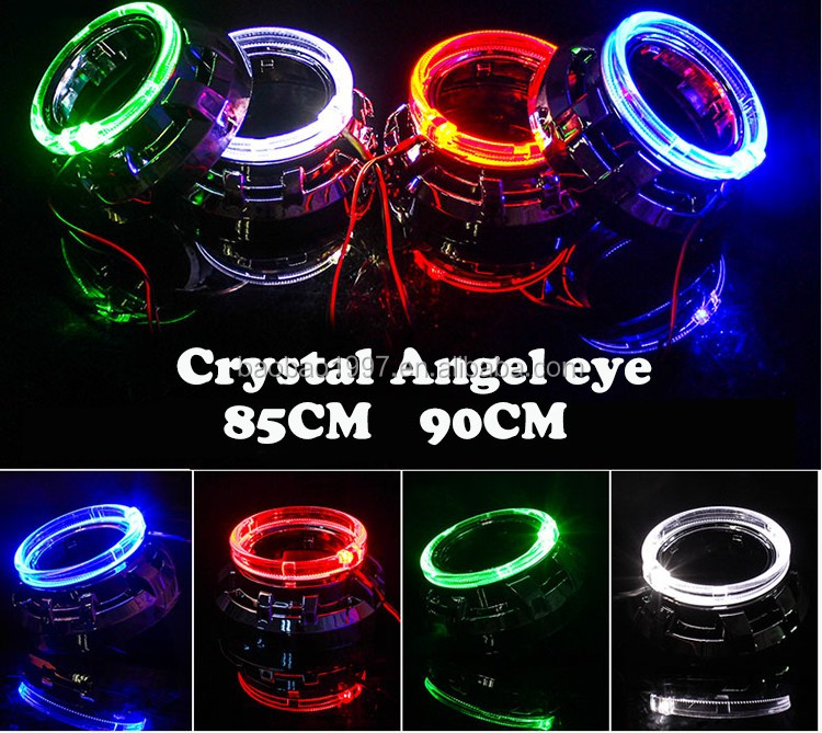 China manufacture hot sale promotion cob angel eyes led strip