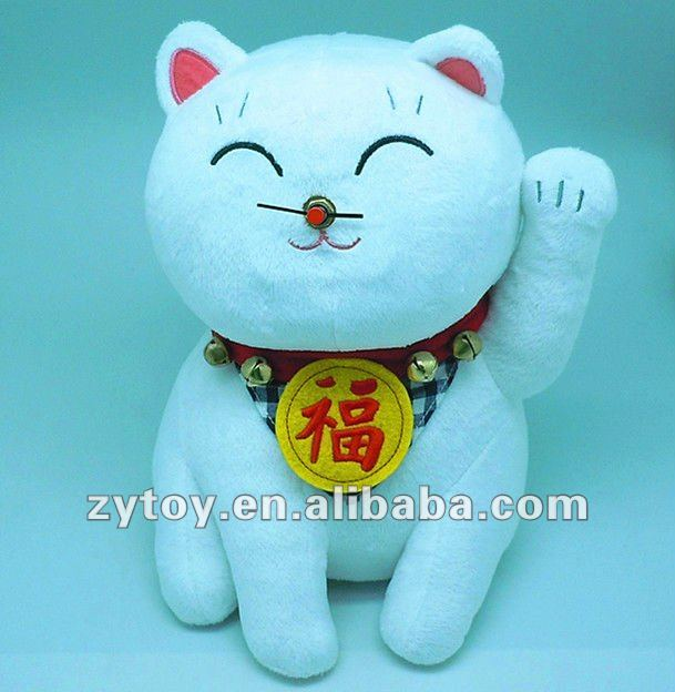 Soft Plush Lucky Cat Stuffed Lucky Cat