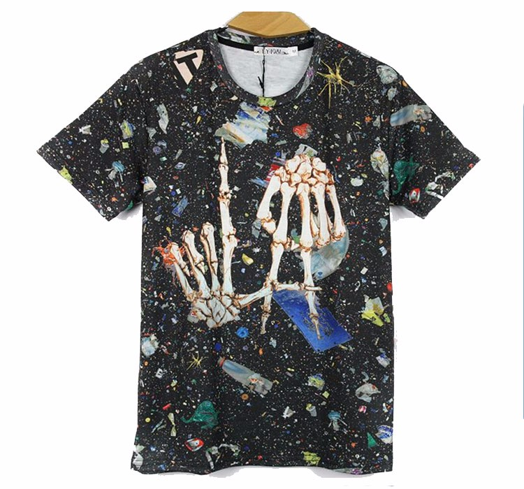OEM orders acceptable fashionable cut and sew long t shirt