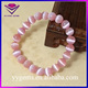 New Brand European Fashion Design Diy Cute Pink Cat Eye Beads Bracelet Synthetic Precious Stone