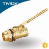 "tank brass float balance ball valve with 8"" plastic ball union brass stem full port DN100 for water machine manual power CE PN40"