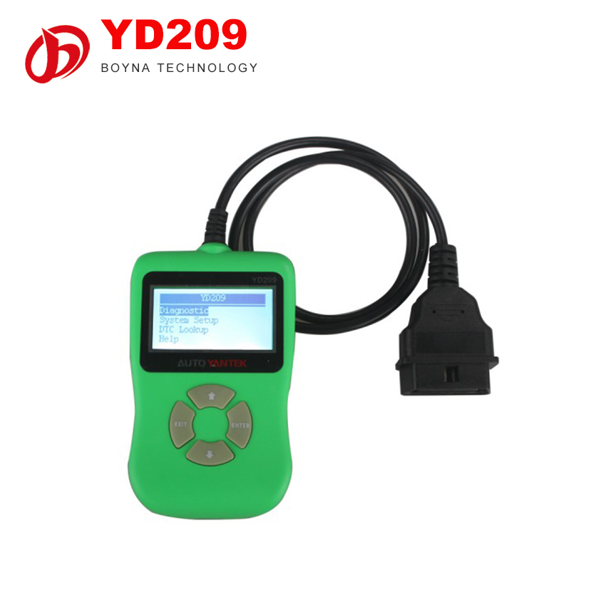 Car accessories YD209 DIY Auto OBDII Cars Code reader Scanner Support Online Update