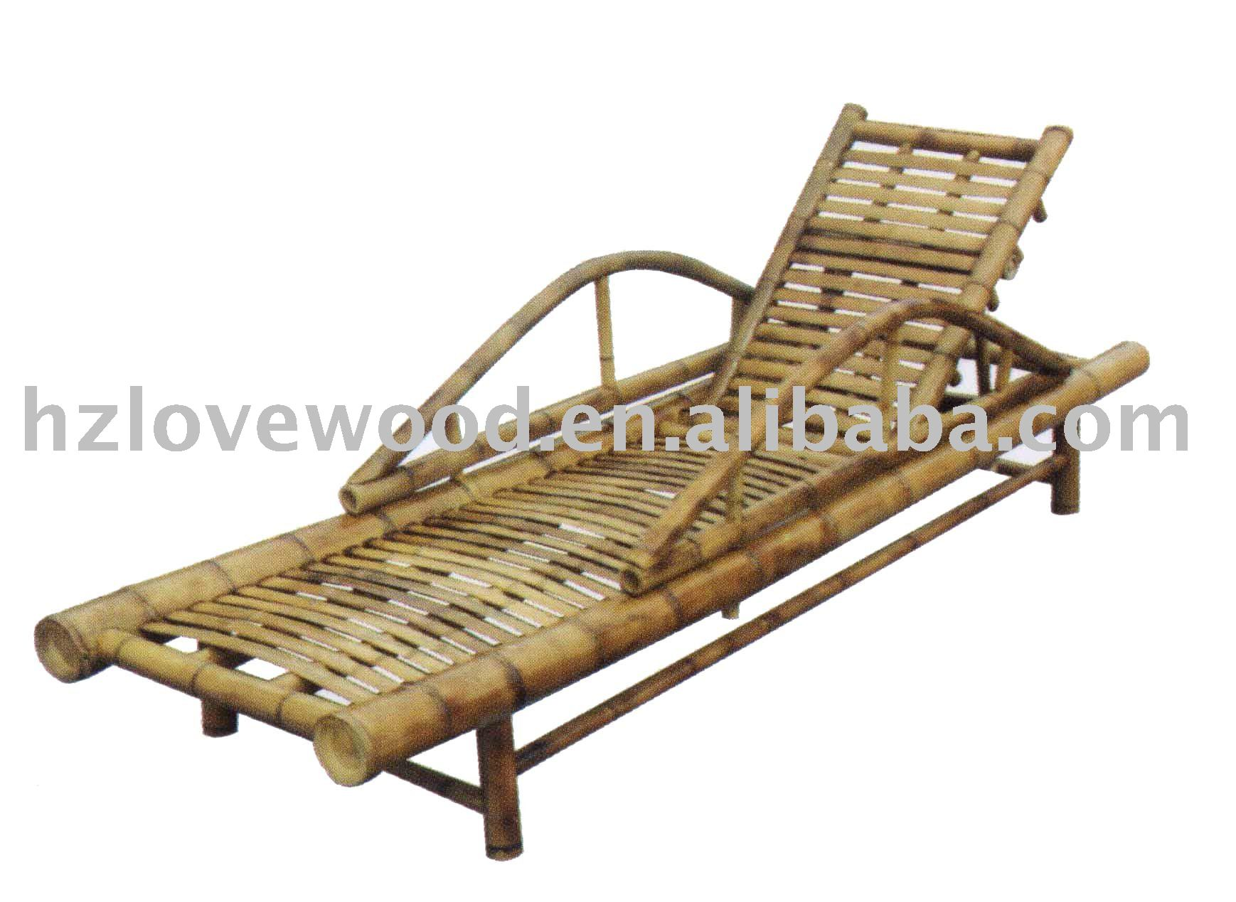 Wooden beach lounge chair - Bamboo Sun Lounger Bamboo Sun Lounger Suppliers And Manufacturers At Alibaba Com