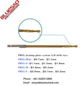 A.O quick coupling drill bits veterinary orthopedic instrument