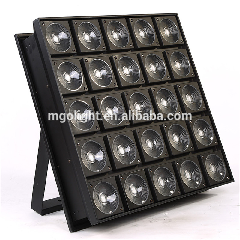 25x30w RGBW 3 IN 1 stage light rgb led matrix light wholesale in China factyory.