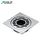 FUAO cheap 4inch stainless steel floor shower drainage