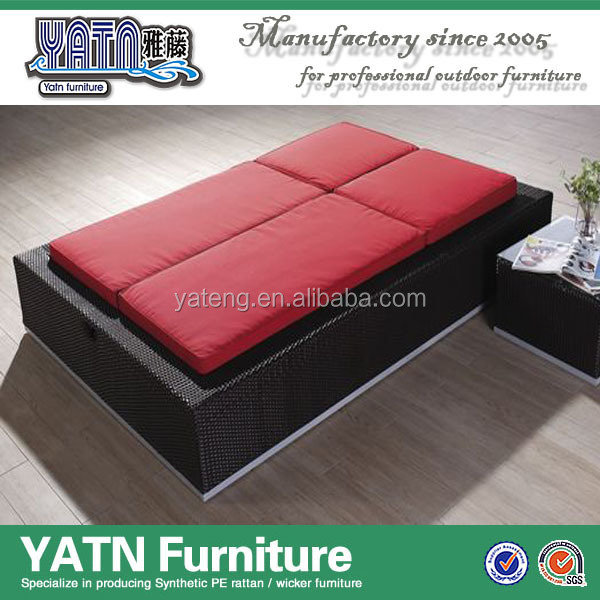 Double Rattan Sun Lounge, Double Rattan Sun Lounge Suppliers and ...
