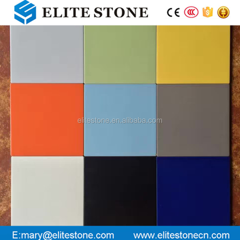 Bathroom Oranges Plain Solid Bright Color Porcelain Ceramic Tiles Floor Wall Tile For Bedroom