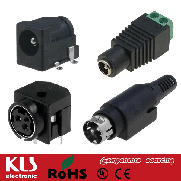 Mini Xlr Plug Connector Female 3 4 5 Pin Ul Ce Rohs Kls